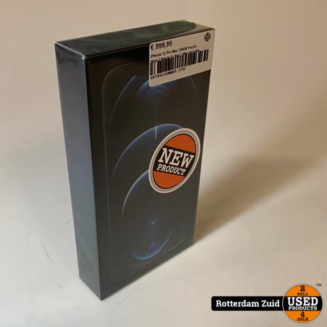 iPhone 12 Pro Max 128GB Pacific Blue || Nieuw In Seal || Met Garantie