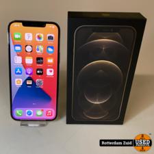 iPhone 12 Pro Max 128GB Gold    in nieuwstaat met garantie   