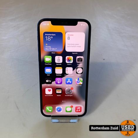 iPhone 12 64GB Blauw || in nette staat met garantie ||