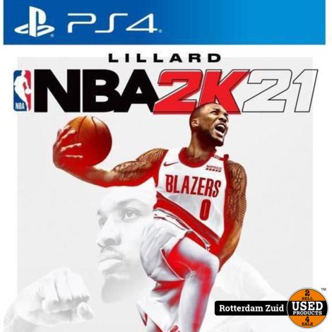 Playstation 4 game PS4: NBA 2K21