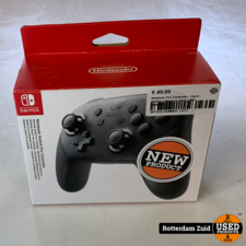 Nintendo Pro Controller - Zwart - Switch || Nieuw In Doos || Met Garantie