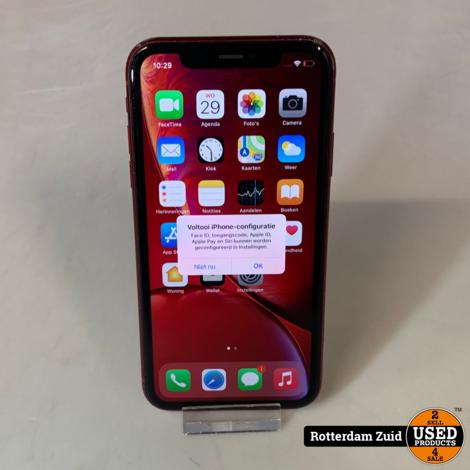 iPhone XR 64GB Rood || Achterkant kapot || met garantie ||