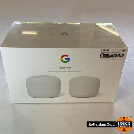 Google Nest Wifi 2 pack || Nieuw in seal |