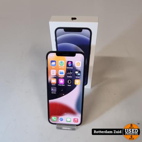 iPhone 12 64GB Black || in nieuwstaat met garantie ||