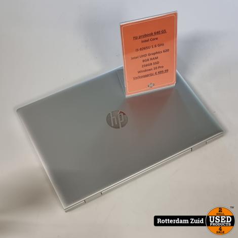 Hp probook 640 G5   i5   8GB   256GB   in nette staat met garantie   