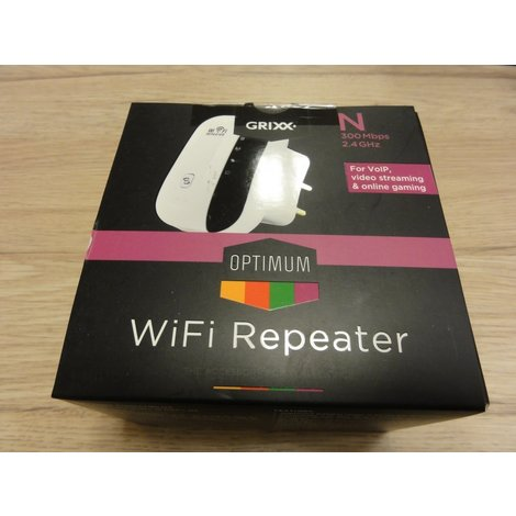 Grixx Optimum WiFi Repeater nieuw in doos