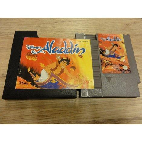 Aladdin NES Game in prachtige staat + Handleiding