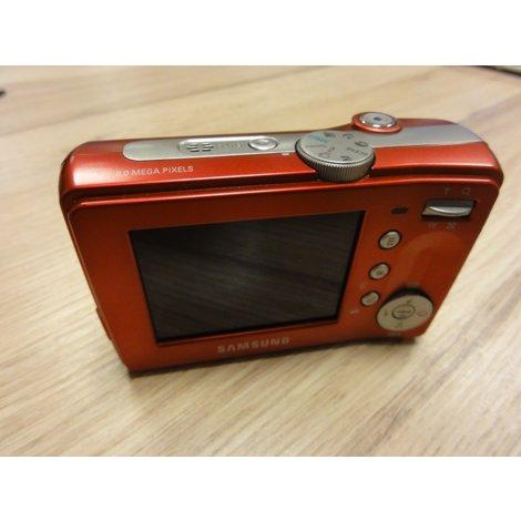 Samsung S630 red 6 megapixels  camera