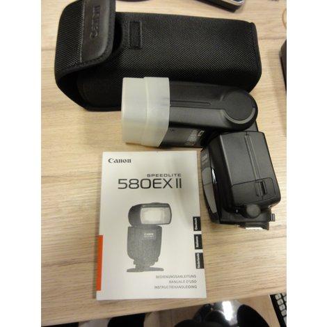 Canon Speedlite 580EX ii met hoes