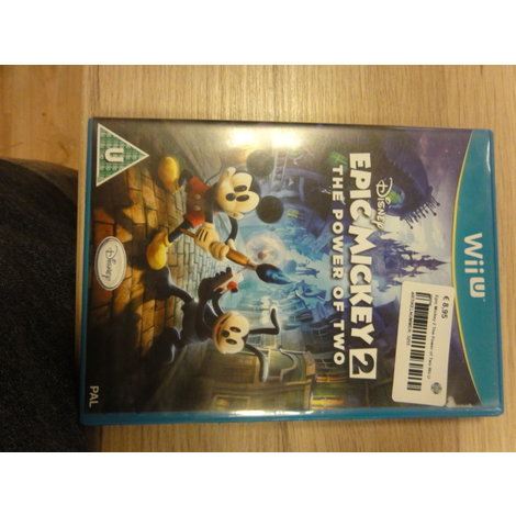 Epic Mickey 2 The Power of Two Wii U game