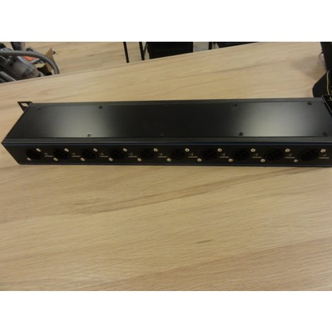Pachbox 19 inch 24 jack