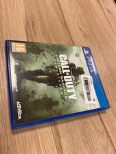Call of Duty Modern Warfare Remastered Playstation 4 game