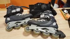 Skates met beschermers