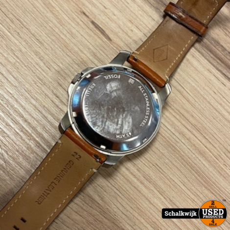 Fossil horloge + armband