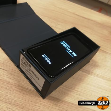 Samsung Galaxy S9 64gb in nette staat in doos