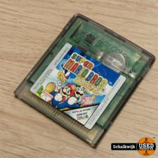 Mario Super Mario Bros Deluxe Gameboy Color game