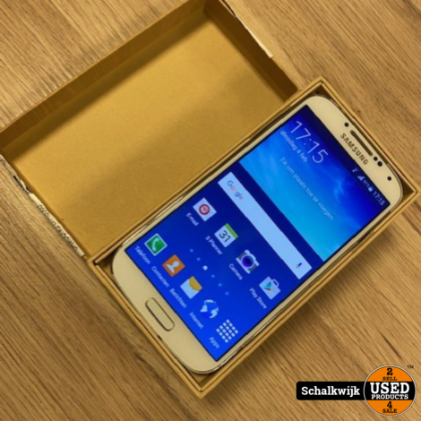 Samsung Galaxy S4 16gb White met nieuwe accu