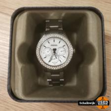 fossil horloge met steentjes type es2860