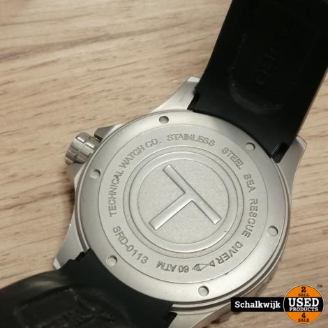 TWCO Sea Rescue Diver horloge in nette staat