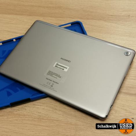 Huawei Mediapad M5 Lite 10 Wifi & 4G 32Gb als nieuw in hoes