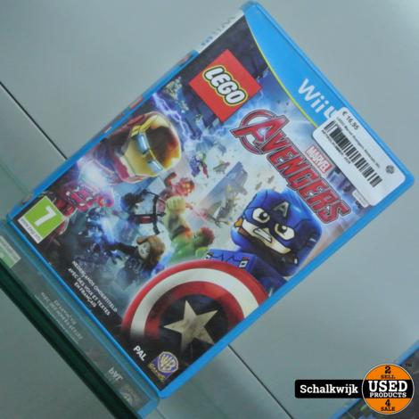 LEGO Marvel Avengers Nintendo Wii U game