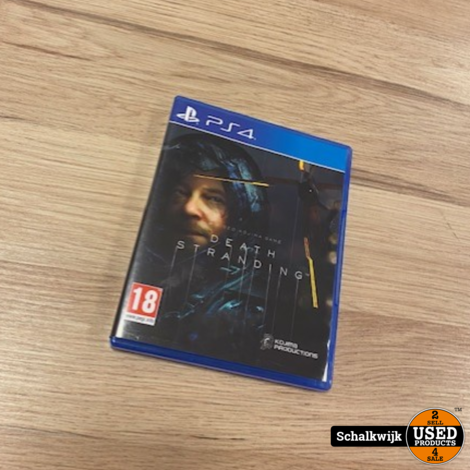 Death Stranding Playstation 4 game