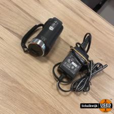 Sony DCR-SX21E Handycam camera met 67 X zoom 16gb kaartje