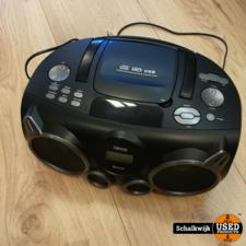 Nikkei Bluetooth Radio/CD Boombox