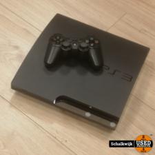 playstation 3 Playstation 3 Slim 320Gb Black in nette staat met controller