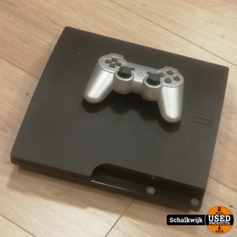 Sony Playstation 3 Slim 160Gb Black in nette staat met controller