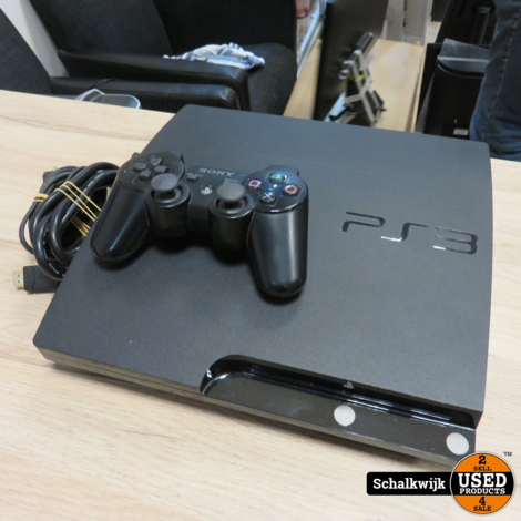 Playstation 3 Console Slim 120Gb met controller