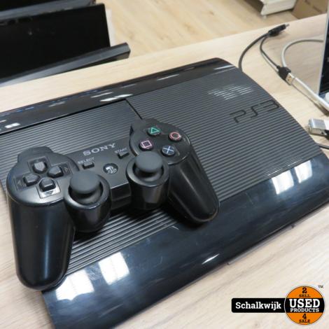 Playstation 3 Super Slim 500Gb in prima staat met controller
