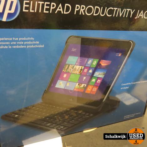 HP Elitepad 900 tablet pc, Win  10 pro, 64 gb opslag 2 gb ram, nieuw docking en toetsenbord