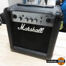 Marshall Marshall MG10CF gitaarversterker in nette staat