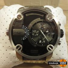 diesel Diesel heren horloge DZ7259 metaalkleur als nieuw in doos