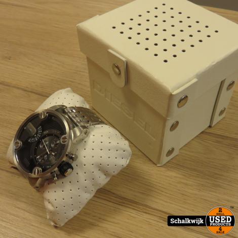 Diesel heren horloge DZ7259 metaalkleur als nieuw in doos
