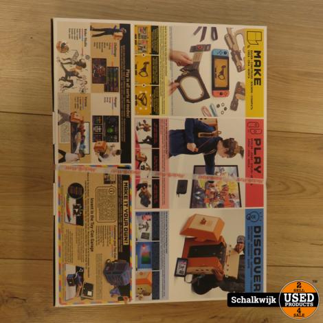 Nintendo Switch Labo Robot kit Toy-Con 02 nieuw in doos