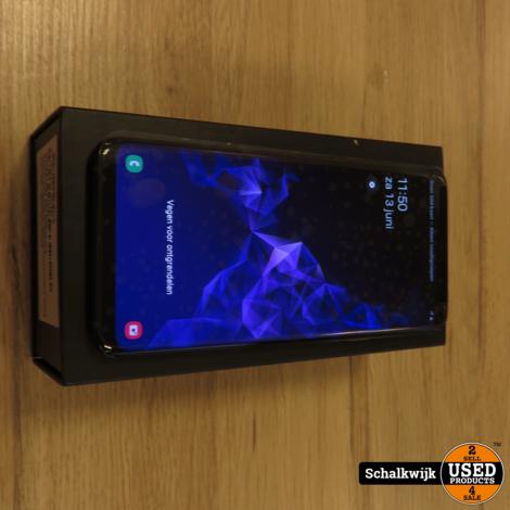 Samsung Galaxy S9 Plus 64gb ZGAN met garantie tot 10/2020!