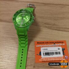 unisex horloge Tutti kleur neo groen