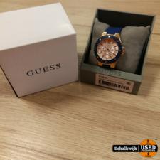dames horloge Guess Milano kleur blauw