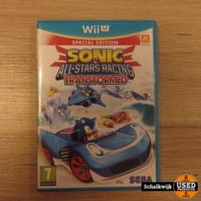 Sonic & All Stars Racing Transformed Nintendo Wii U Game