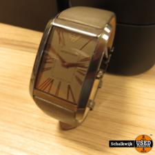 Emporio Armani Emporio Armani AR-2058 Horloge in zeer nette staat in doos!
