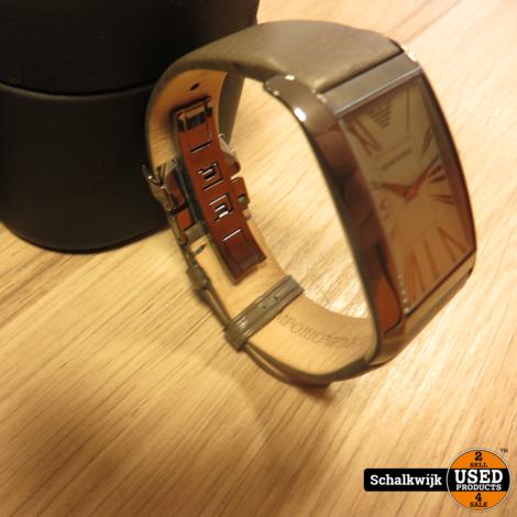 Emporio Armani AR-2058 Horloge in zeer nette staat in doos!
