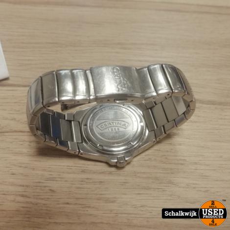 Certina DS Spel 115.7155.42 horloge met nieuwe batterij en waterdicht!