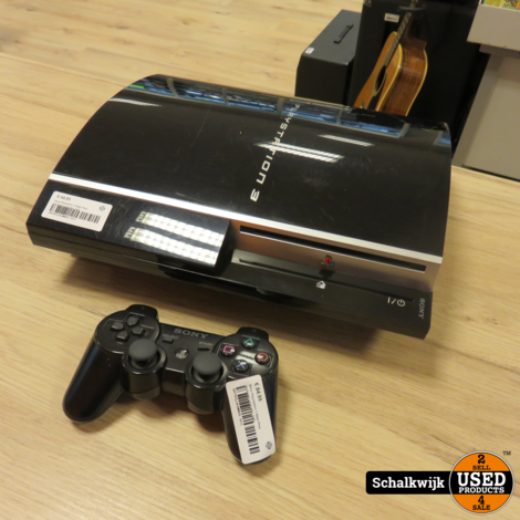 Sony Playstation 3 80gb Phat inclusief controller