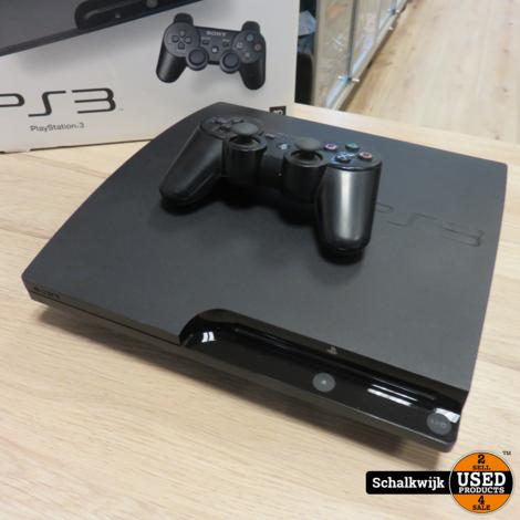Sony Playstation 3 160gb Slim in zeer nette staat in doos