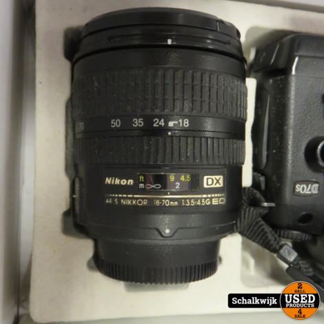 Nikon D70S met 18-70 3.5-4.5