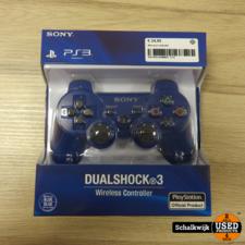 ps3 controller Blauw nieuw in verpakking