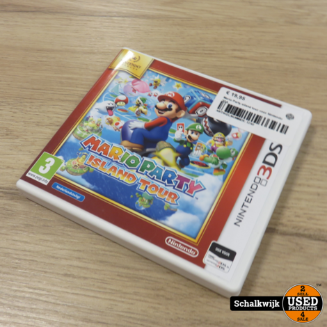 Mario Party Island Tour Nintendo 3DS game in nette staat