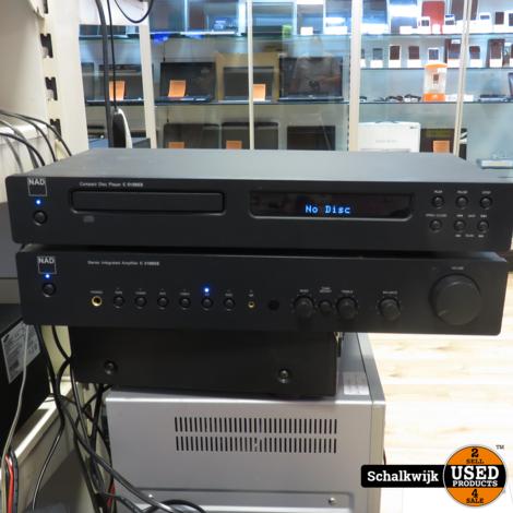 Nad audio set Cd speler C515BEE / Versterker C316BEE 2x 40 Watt 2x afstandsbediening